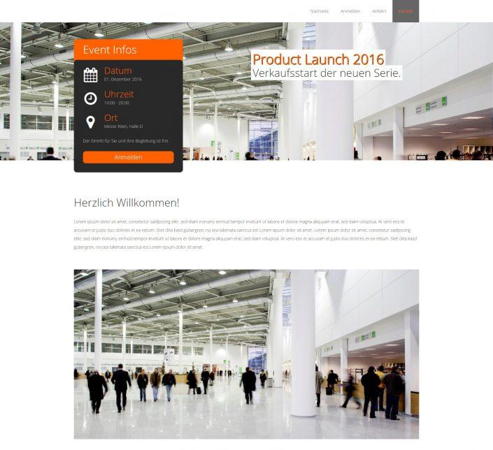 Event Website