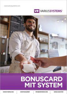 Bonuscard Broschüre
